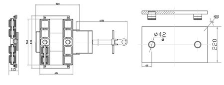 DOSTAWA GRATIS! 44366799 Platforma transportowa do transportu maszyn (udźwig: 6000 kg)