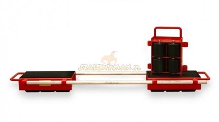 LIFERAIDA Zestaw rolek transportowych przód i tył  (łączny udźwig: 12,0 T) 03015123