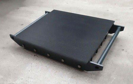 Stalmechon Wózek stały do transportu maszyn, urządzeń i sprzętu (rolki: 16x poliamid, nośność: 18 ton) 50276369