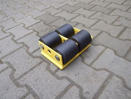 Wózek stały 4 rolkowy, rolki: 4x kompozyt (nośność: 8 T) 12235590