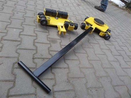 Wózek uniwersalny, rolki: 10x nylon (nośność: 5 T) 12267451