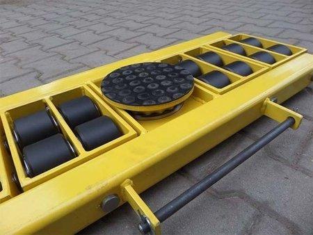 Zestaw wózków, rolki: 34x stal (nośność: 58 T) 12267450